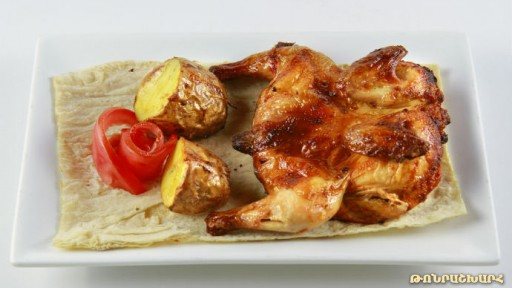 Chicken made in tundir